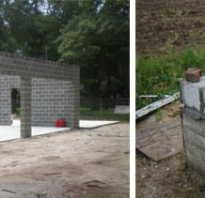 Обзор минусов и плюсов строительства коттеджа из бетонных блоков