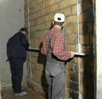 Как установить маяки на стену для штукатурки