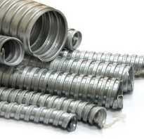Металлорукав, фитинги для ввода и соединения