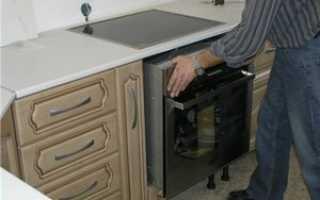 Как установить встраиваемый духовой шкаф, монтаж электрической духовки
