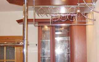 Подвесная барная стойка для кухни своими руками