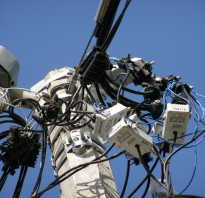 Как работают электросчетчики с пультом на столбе