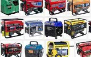 Какой генератор выбрать: бензиновый, дизельный или газовый