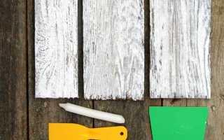 3 метода покрасить дерево в белый цвет с потертостями или под старину