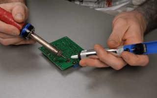 Электрический оловоотсос своими руками