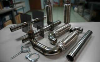 Система отвода выхлопных газов генератора