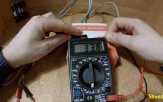 Как прозвонить провода и кабель мультиметром