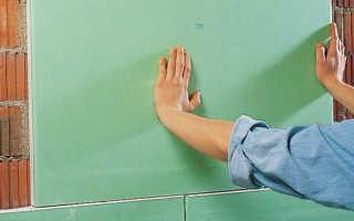 Инструкция по выравниванию стен гипсокартоном без профиля и каркаса