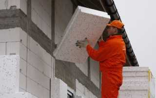 Технология утепления стен дома пенопластом снаружи своими руками