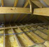 Как быстро и недорого утеплить потолок бани