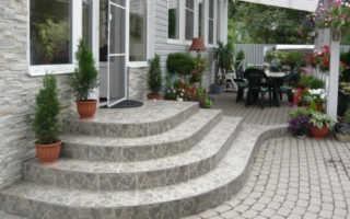 Как сделать бетонное крыльцо в частном доме своими руками
