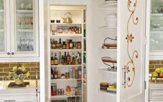 Идеи дизайна маленькой кладовки в квартире