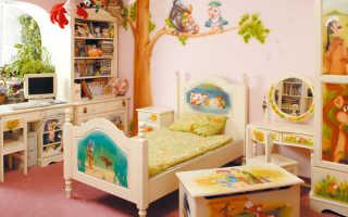 Выбираем краску для детской мебели из дерева: советы для заботливых родителей
