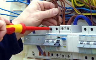 Установка и замена автоматических выключателей и УЗО