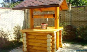 Чем покрасить домик для колодца