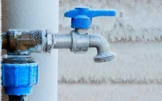 Как утеплить наружный водопровод для водоснабжения частного дома зимой