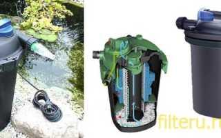 Фильтр для пруда — обзор лучших вариантов