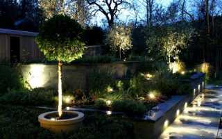 Освещение участка своими руками; интересные идеи как эффективно и красиво осветить ваш сад своими руками