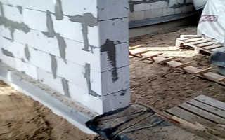 Как сделать фундамент под перегородки в доме по грунту