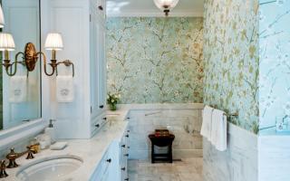 Альтернатива плитке в ванной: выбор экспертов; чем можно заменить кафель в санузле
