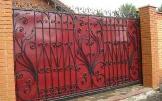 Выбор краски для уличных металлических ворот, правила окрашивания