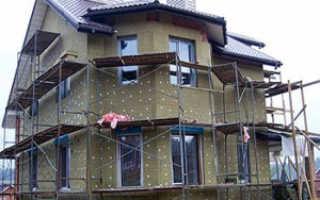 Как правильно утеплять стены минватой снаружи