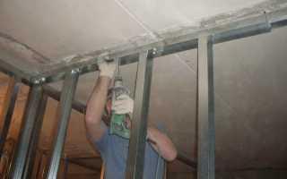 Технология монтажа стен из гипсокартона
