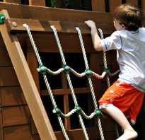 Как сделать веревочную лестницу
