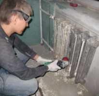Эффективные способы снятия старой краски с батареи отопления
