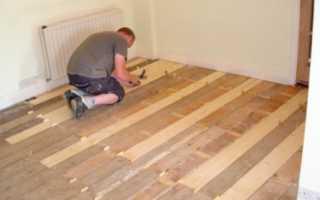 Как обновить деревянный пол своими силами