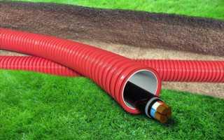Монтаж кабеля в земле; 20 частых ошибок