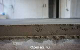 Марки цементно-песчаного раствора для стяжек пола
