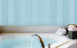 Советы по выбору стекловолокнистых обоев для ванной