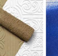 Чем покрасить пенопластовые плиты