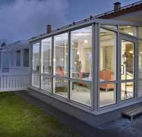 Тамбуры для домов из стеклопакетов; использование качественных материалов