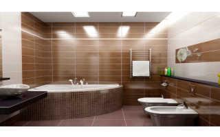Освещение в ванной комнате: как сделать красиво и правильно